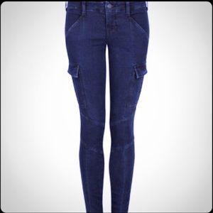 J Brand Olympia Houlihan Cargo Moro Jeans Skinny